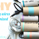 PAPER ROLLS FOR ORGANIZING ALL YOUR WIRES
