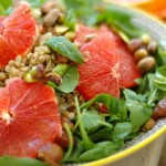 BUCKWHEAT SALAD WITH GRAPEFRUIT, PISTACHIOS AND CARDAMOM