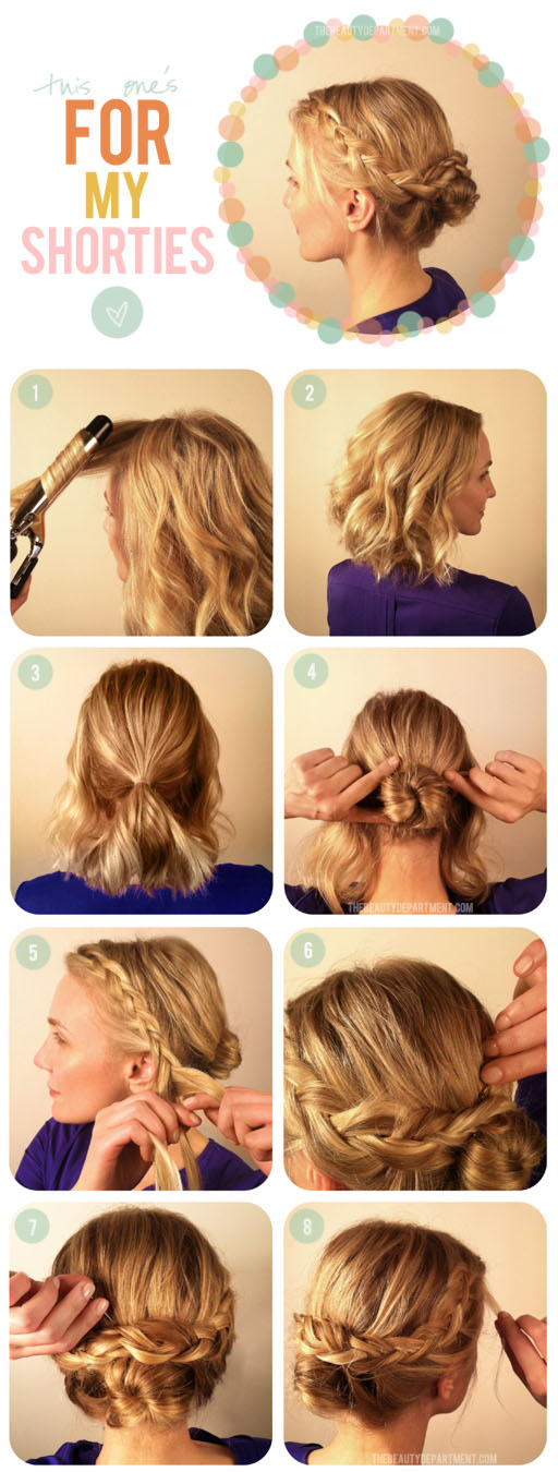 Remarkable 9 Hairstyle Tutorials How To Survive To This Autumns Bad Hair Short Hairstyles For Black Women Fulllsitofus