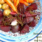 ROASTED BEETS AND CARROTS