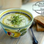 EXPRESS RECIPE: CELERIAC SOUP (2 ingredients, 20 minutes)